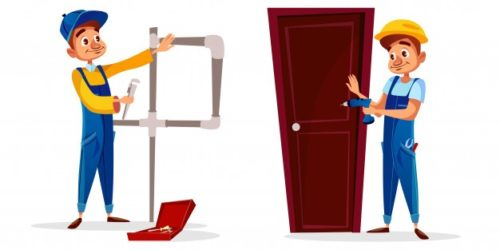 cartoon-plumber-technician-worker-characters-set-male-professional-service-man_33099-289