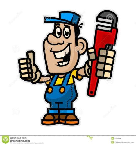 encanador-alegre-que-guarda-chave-de-tubulação-34698999