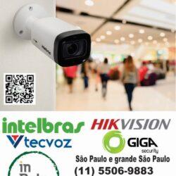 CFTV, Camera de segurança,  camera, Intelbras, São Paulo, instalação, manutenção